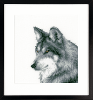 Counted Cross Stitch Kit: Wolf By Vervaco