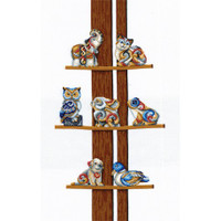 COLLECTION OF FIGURINES-cross stitch kit by Andriana