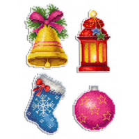 Christmas Magnets Plastic Canvas Kit