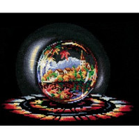 SPHERES OF WISHES. AUTUMN DREAMS -cross stitch kit by Andriana