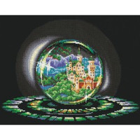 Spheres Of Wishes. Summer-cross stitch kit by Adriana