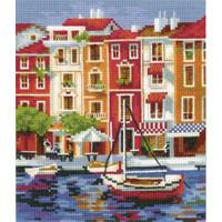 QUIET HARBOR-cross stitch kit by Andriana