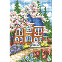 SEASONS. SPRING-cross stitch kit by Andriana