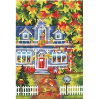SEASONS. AUTUMN-cross stitch  kit by Andriana