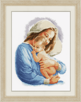 Counted Cross Stitch Kit: Holy Mary By Veravco