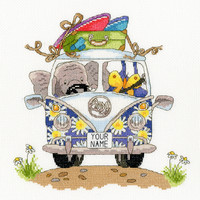 Elly Pack your Trunk Cross Stitch Kit by Bothy Threads