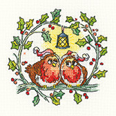 Christmas Robins Cross Stitch By Heritage