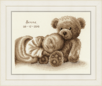 Counted Cross Stitch Kit: Sweet Dreams by Vervaco
