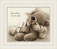 Counted Cross Stitch Kit: Teddy Bear By Vervaco