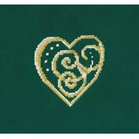 JEWELRY HEART-cross stitch kit by andriana