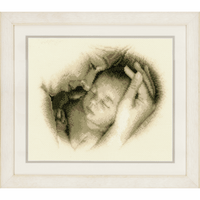 Counted Cross Stitch Kit: Sleeping Safely By Vervcao