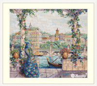 Palace Pier Cross Stitch Kit by Merejka
