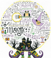 Lets be Magical Cross stitch Chart by Ursula Michaels