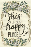 Our happy Place Cross Stitch Chart by Diane Arthurs