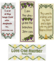 Bookmark Blessings Cross Stitch Charts By Janis Lockhart