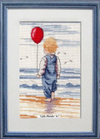 Little Blondie Cross Stitch Kit by All our Yesterdays