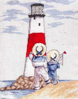 Light house Cross Stitch Kit by All our Yesterdays