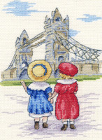 Tower Bridge Cross Stitch Kit by All our Yesterdays