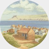 Coastal Village cross stitch kit by John Clayton