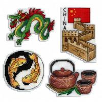 China Magnet Cross Stitch Kit set