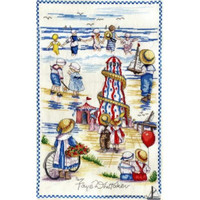 Seaside Montage Cross Stitch Kit by All our Yesterdays