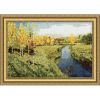 Golden Autumn II Cross Stitch Kit by Golden Fleece