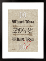 Counted Cross Stitch Kit: Do What You Love By Vervaco
