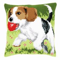 Cross Stitch Kit: Cushion: Beagle By Vervaco