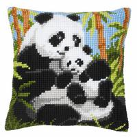 Cross Stitch Kit: Cushion: Panda By Vervaco