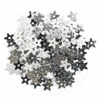 Extra Value: Sequins: Stars: Small: Silver: 3 Packs of 500