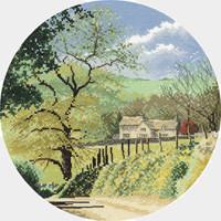 Primrose Bank Cross Stitch Kit by John Clayton