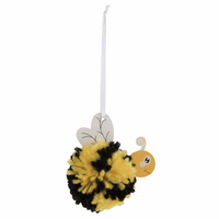 Pom Pom Decoration Kit: Bee