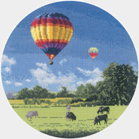 Up and Away cross stitch kit By John Clayton