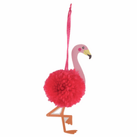Pom Pom Decoration Kit: Flamingo by Trimit