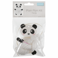 Pom Pom Decoration Kit: Panda
