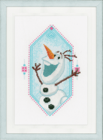 Im olaf Disney Cross Stitch Kit by Vervaco