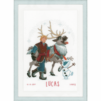 Disney Always Up For Adventure Cross Stitch Kit by Vervaco
