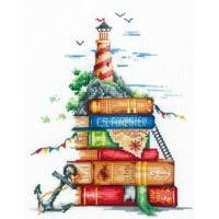 SEA STORIES cross stitch kit by Andriana