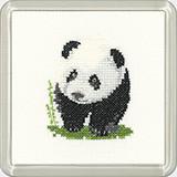 Panda Coaster Kit  By Heritage Crafts