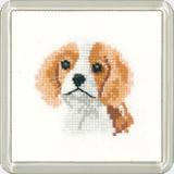 Spaniel Puppy Coaster Kit  By Heritage Crafts