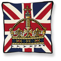 Crown Jewels Tapestry Cushion kit by Brigantia