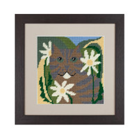 Tiger Cat Tapestry Kit by Cleopatra