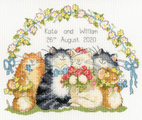 The Purrrfect Day Cross Stitch Kit by Bothy Threads