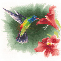 Hummingbird in Flight By Heritage Crafts
