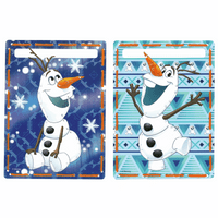 Embroidery Kit: Cards: Disney: Olaf: Set of 2 By Vervaco