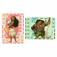 Embroidery Kit: Cards: Disney: Moana: Set of 2 By Vervaco