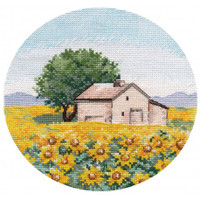 Miniature. Sunflowers Cross Stitch Kit by Oven