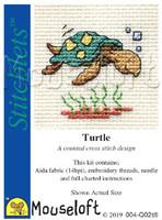 Turtle Cross Stitch Kit by Mouseloft