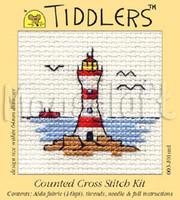 Lighthouse Cross Stitch Kit by Mouseloft