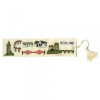 Landmarks of Scotland Bookmark By Textile Heritage